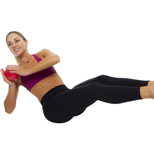 Bola de Peso / Tonning Ball - 1 KG - Par- Pro Action - Par  - Loja do Competidor
