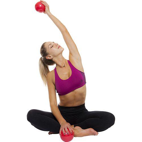 Bola de Peso  Tonning Ball - 1 KG - Par- Pro Action - Par -  - Loja do Competidor