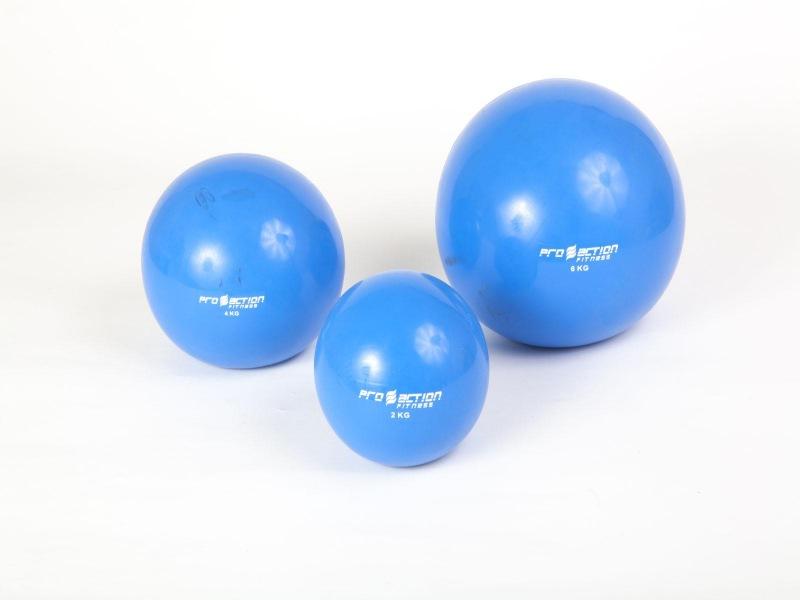 Bola de Peso / Tonning Ball - 2/4/6 KG - Unidade - Pro Action .