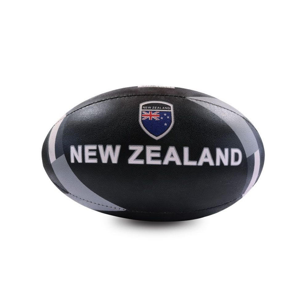 Bola de Rugby - DRB - New Zealand- N5 - Preto - Dribbling