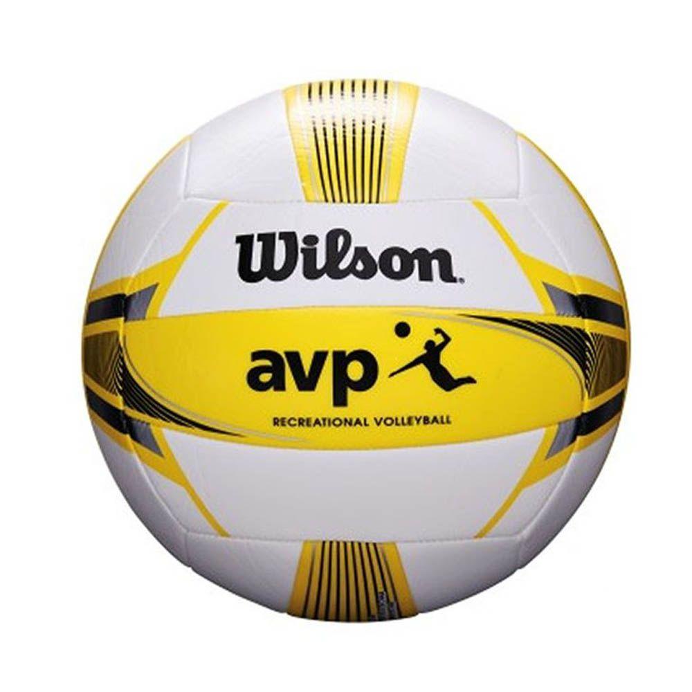 Bola de Volei - AVP - Amarelo / Preto -Microfibra- Wilson