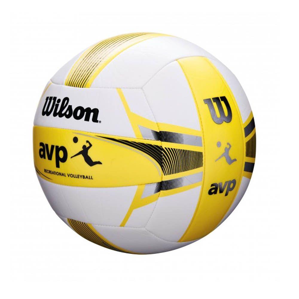 Bola de Volei - AVP - Amarelo / Preto -Microfibra- Wilson  - Loja do Competidor