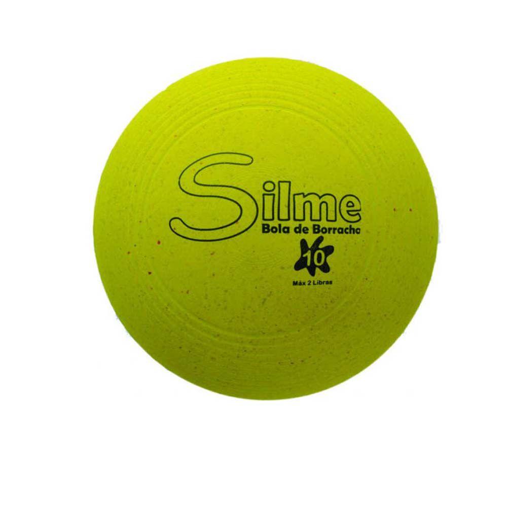 Bola Emborrachada Fisioterapia / Fortalecimento Muscular-  n10 - Silme  - Loja do Competidor