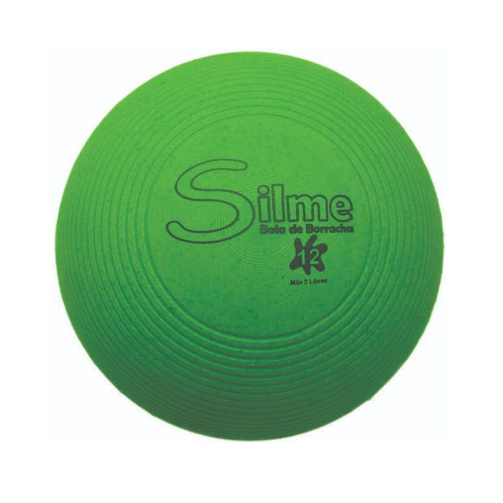 Bola Emborrachada Fisioterapia / Fortalecimento Muscular-  n12 - Silme  - Loja do Competidor