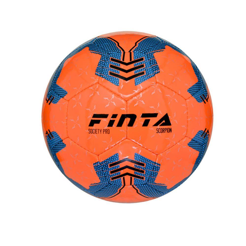 Bola Futebol Society Scorpion - 32 Gomos - Costurada - Finta