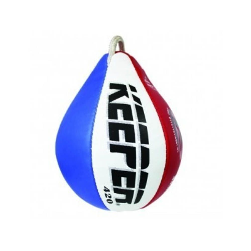 Bola Punching Ball Pera Espiribol - Costurada - PVC - Keeper