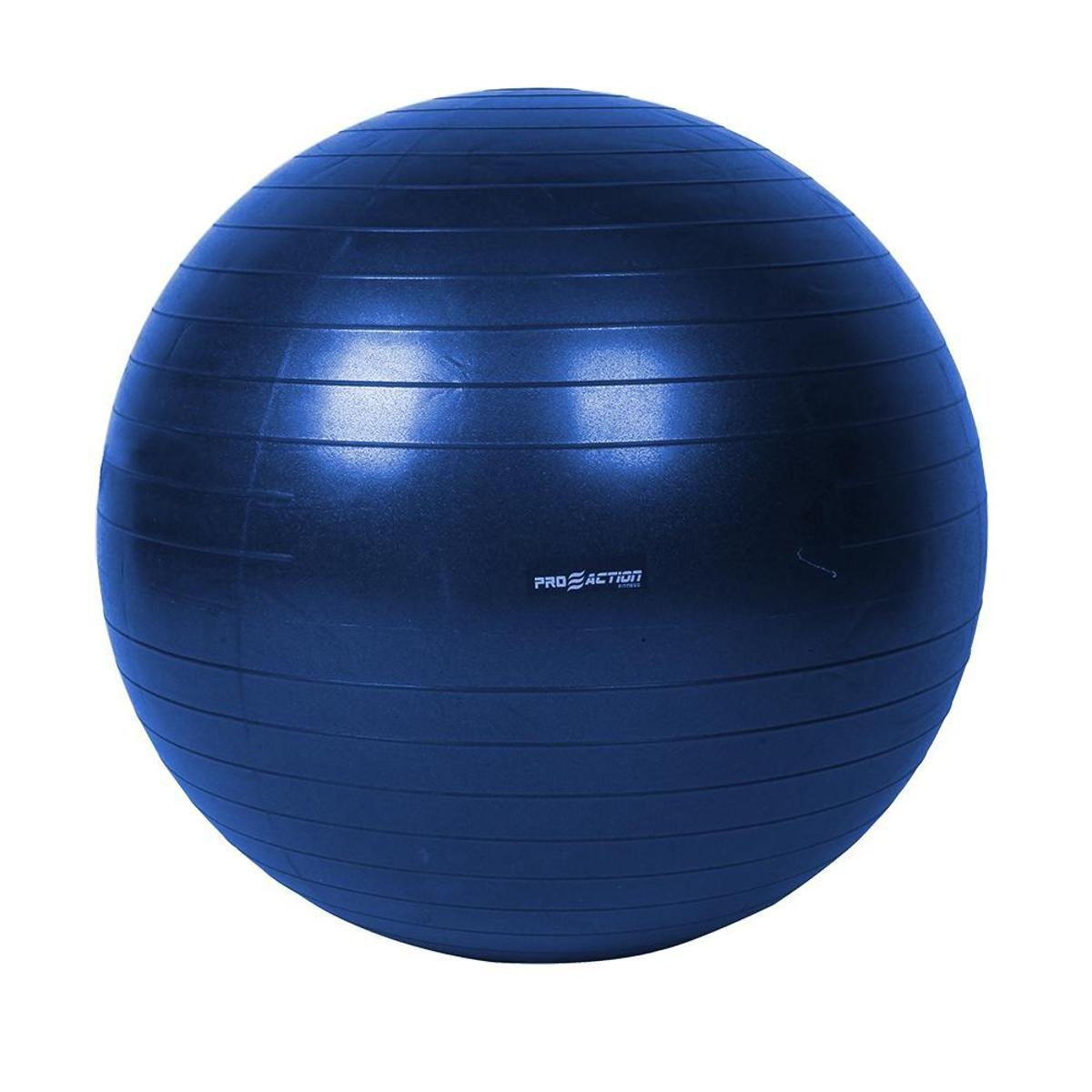 Bola Suiça - Ginástica/Pilates - 85 cm - Pro Action - com bomba