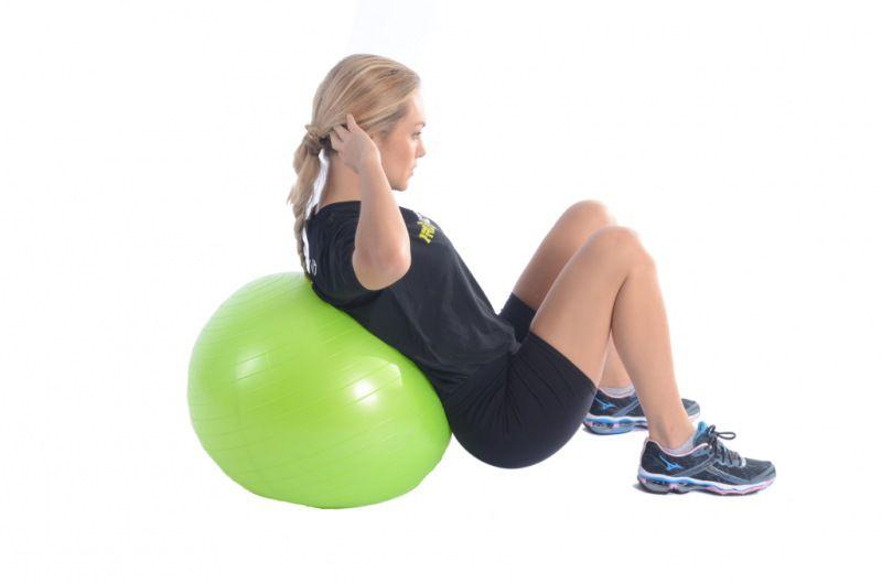 Bola Suiça - Ginástica/Pilates - Com Bomba de Ar - 75 cm  - Loja do Competidor