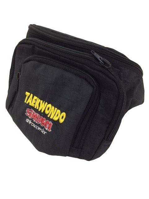 Bolsa/Pochete- Bordado - Taekwondo - Shiroi