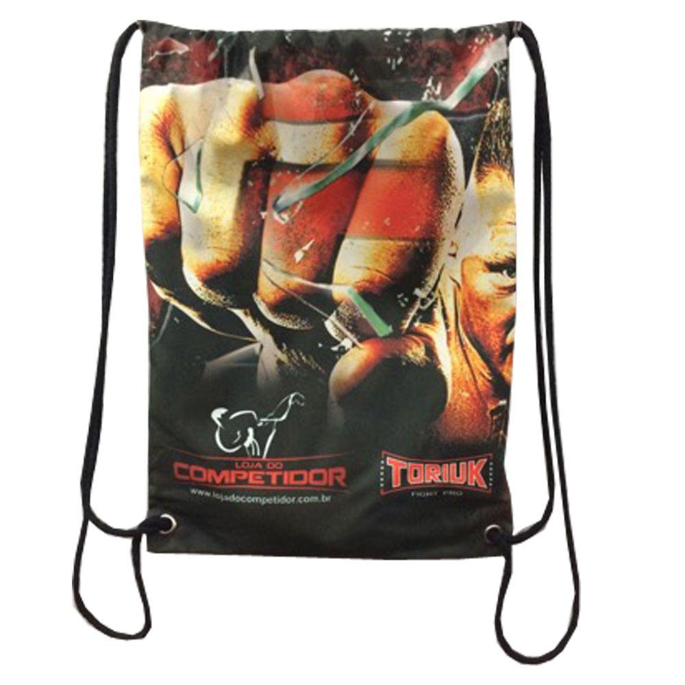 Bolsa Sacola Training Bag- Face - Artes Marciais - Toriuk  - Loja do Competidor