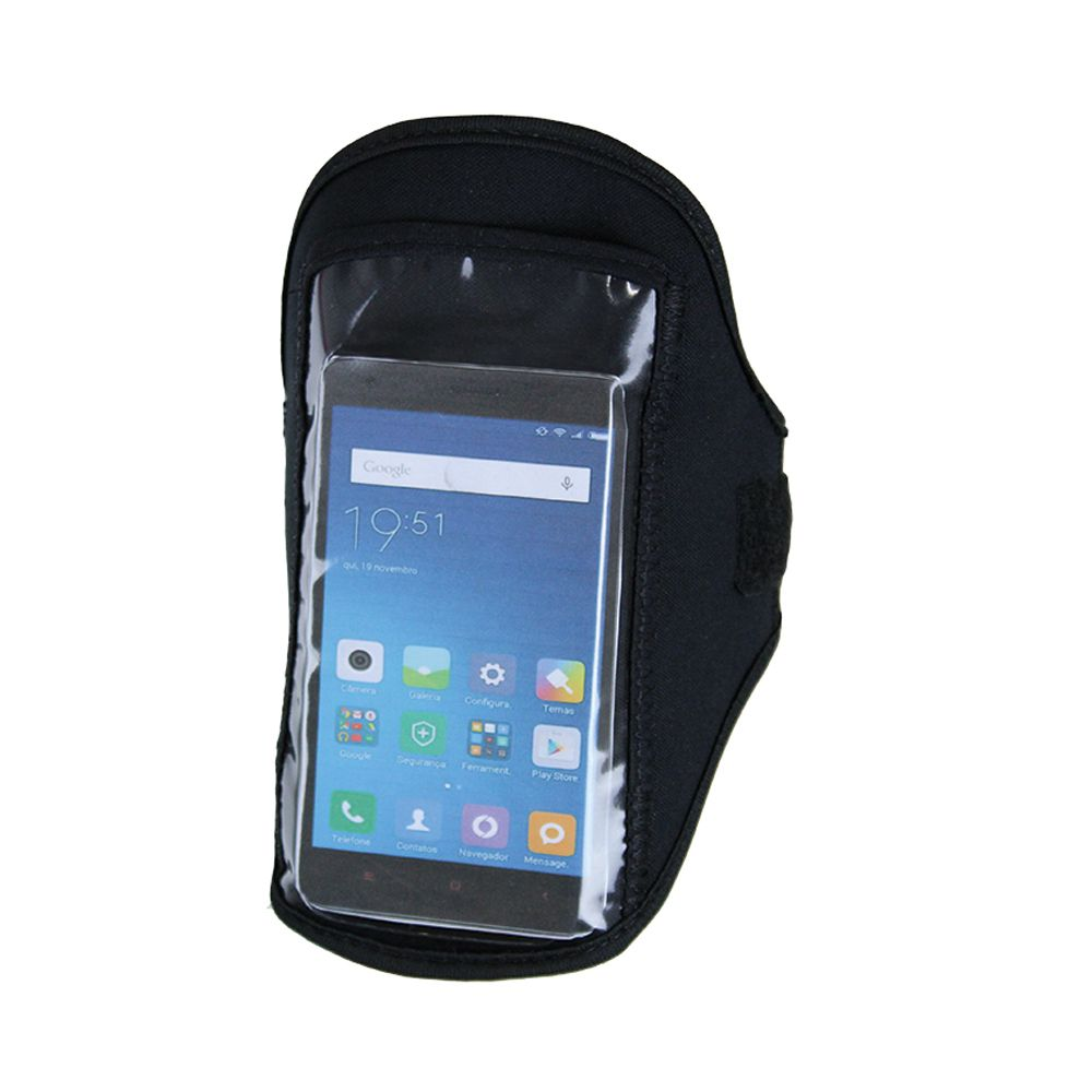 Braçadeira / Porta Celular- Iphone / Samsung / Zenfone - Neopreme - Pentagol