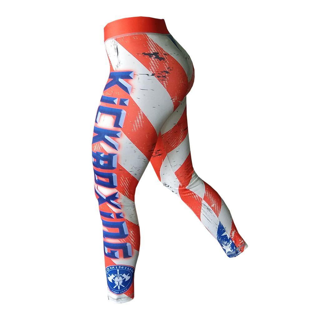 Calça de Compressão Térmica Feminina Kickboxing - 1803 - Dominium -  - Loja do Competidor