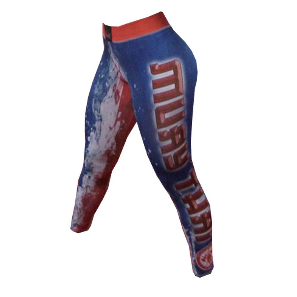 Calça de Compressão Térmica Feminina Muay Thai - 1802 - Dominium -  - Loja do Competidor
