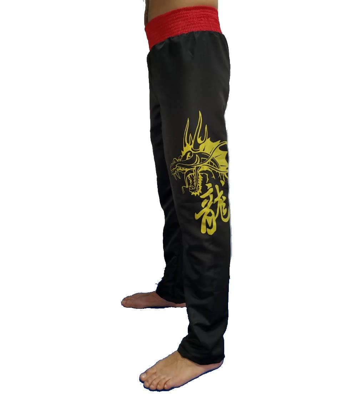 Calça Muay Thai Dragon Microfibra Adulto - Duelo  - Loja do Competidor