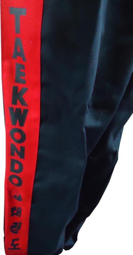 Calça Taekwondo - Brim - Adulto - Preta - Sung Ja -  - Loja do Competidor