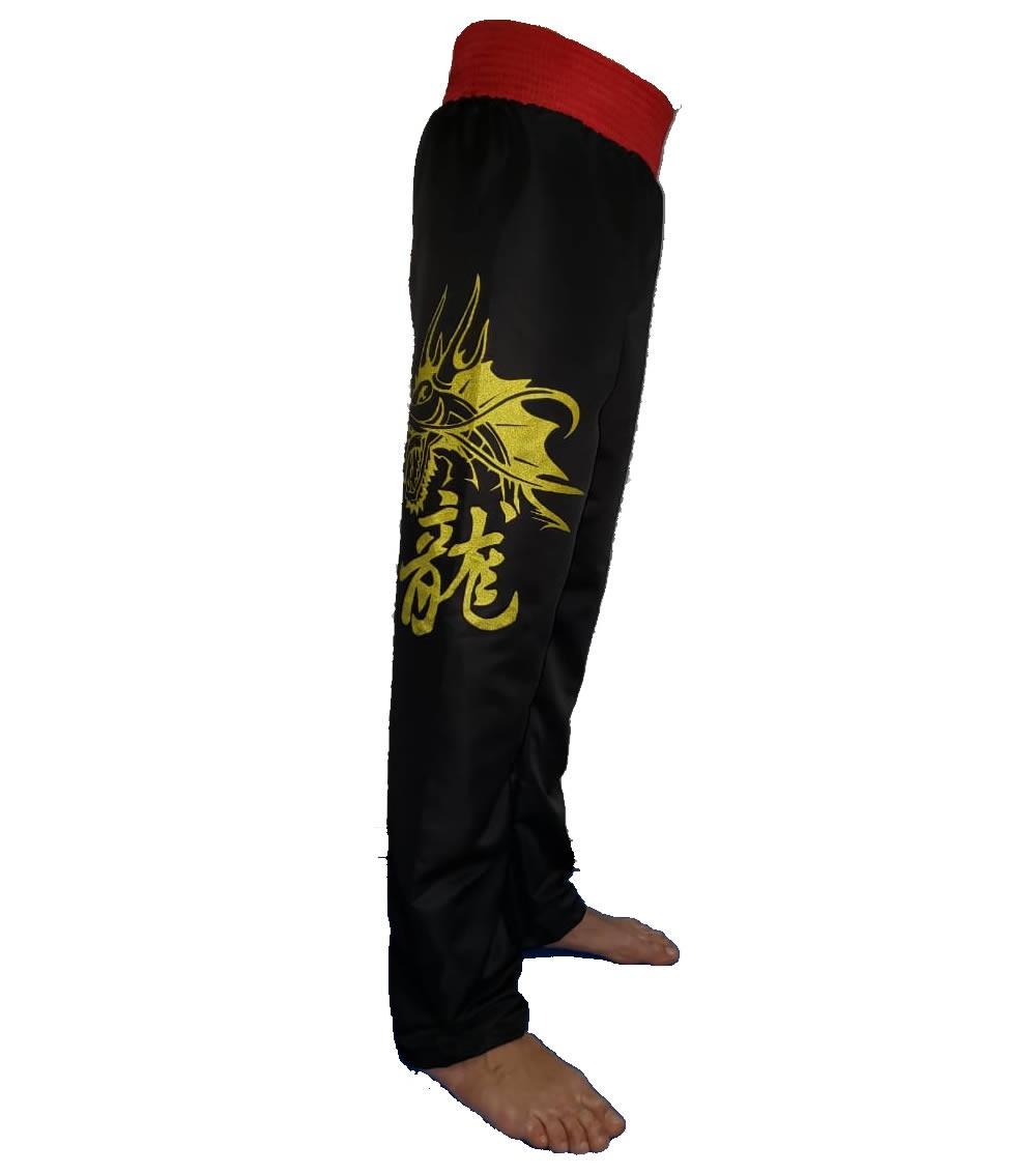 Calça Taekwondo Dragon Microfibra Adulto - Duelo  - Loja do Competidor