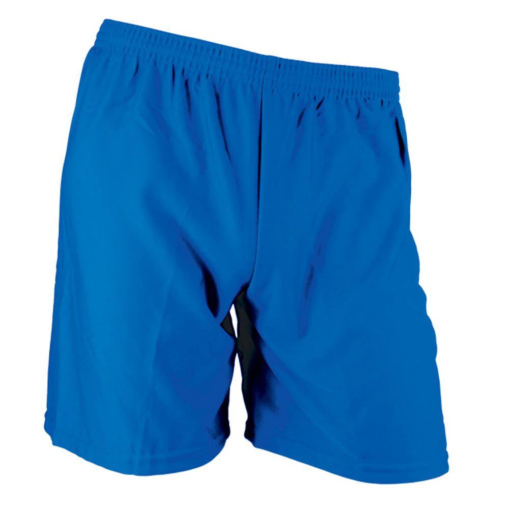 Calção de Futebol Futsal - Liso - Azul - Infantil - Kanga  - Loja do Competidor
