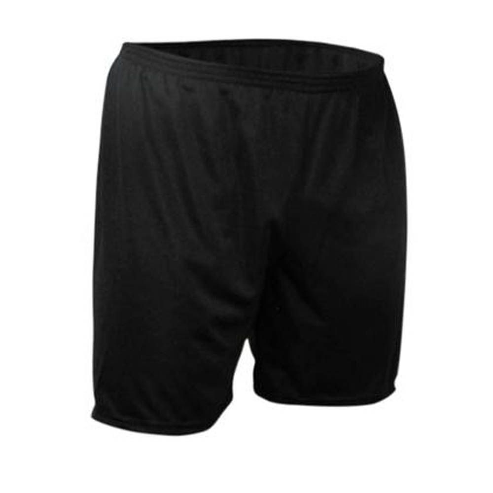 Calção de Futebol Futsal - Liso - Preto - Infantil - Kanga