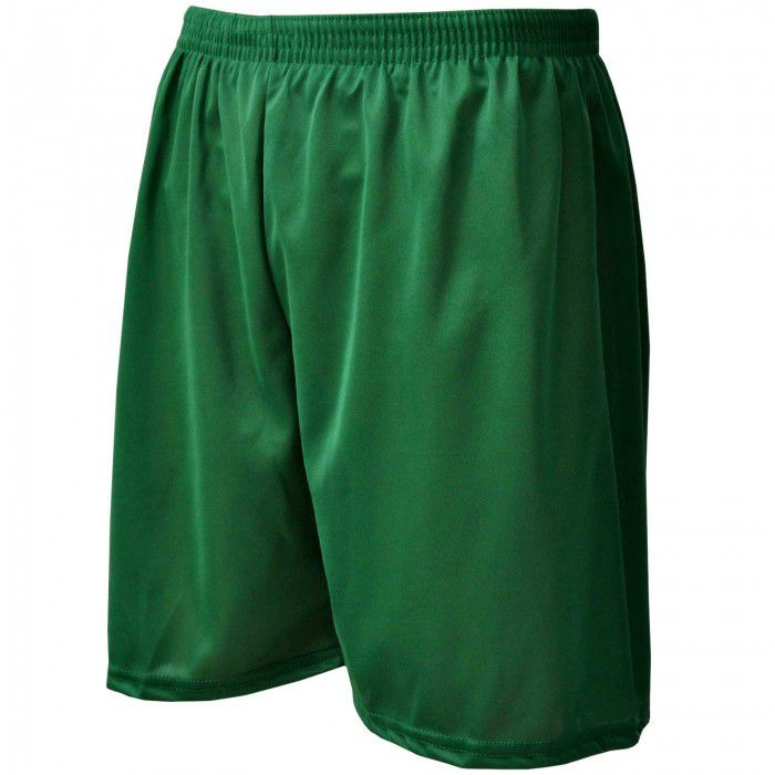 Calção de Futebol / Futsal - Liso - Verde- Adulto - Kanga  - Loja do Competidor