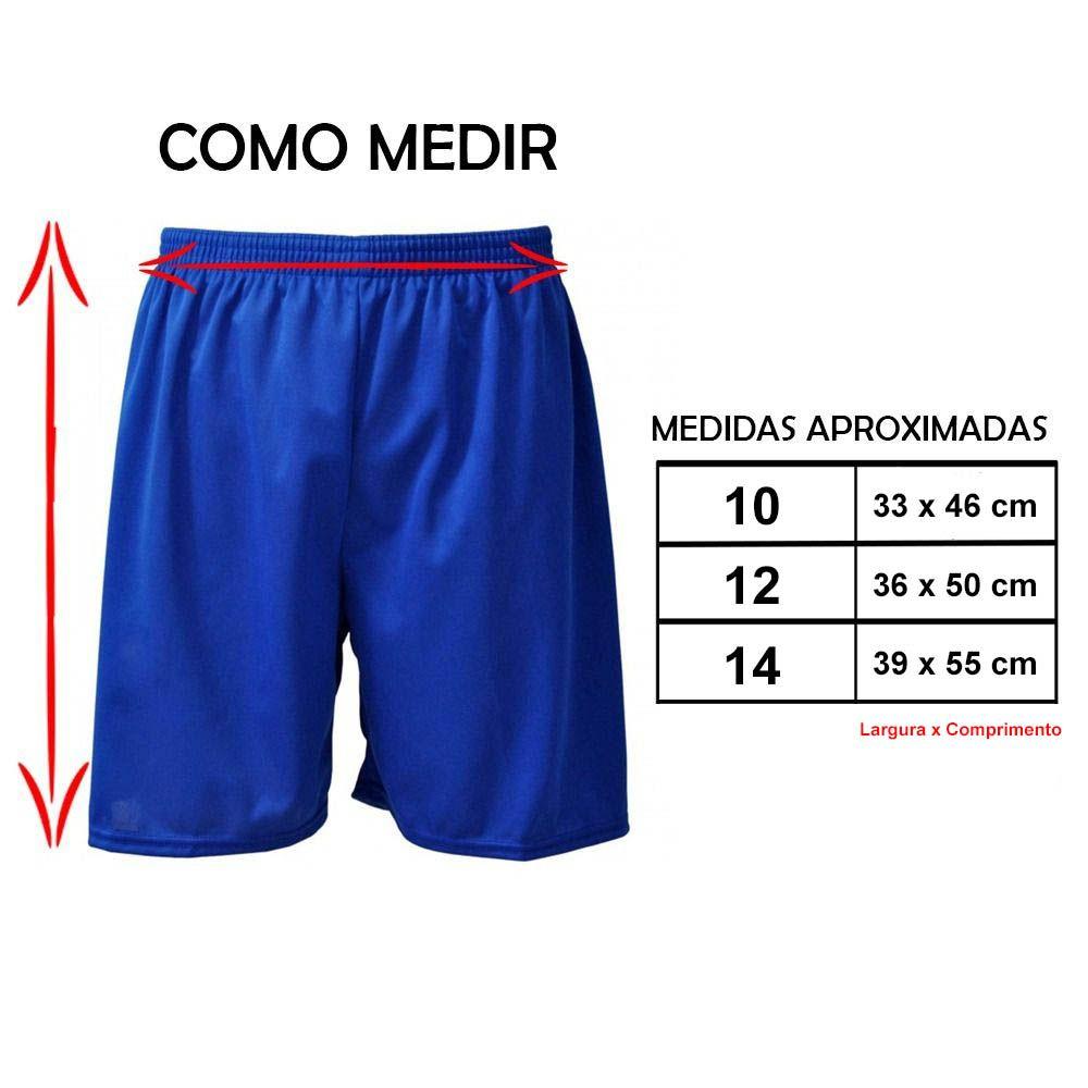 Calção de Futebol Futsal - Liso - Vinho - Infantil - Kanga  - Loja do Competidor