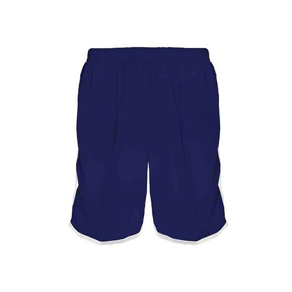 Calção de Futebol / Futsal / Musculação - Lotus- Azul/Branco- Adulto - Kanga  - Loja do Competidor