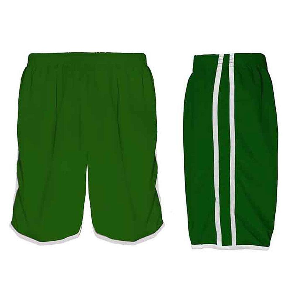 Calção de Futebol Futsal Musculação - Lotus - Verde/Branco- Adulto - Kanga