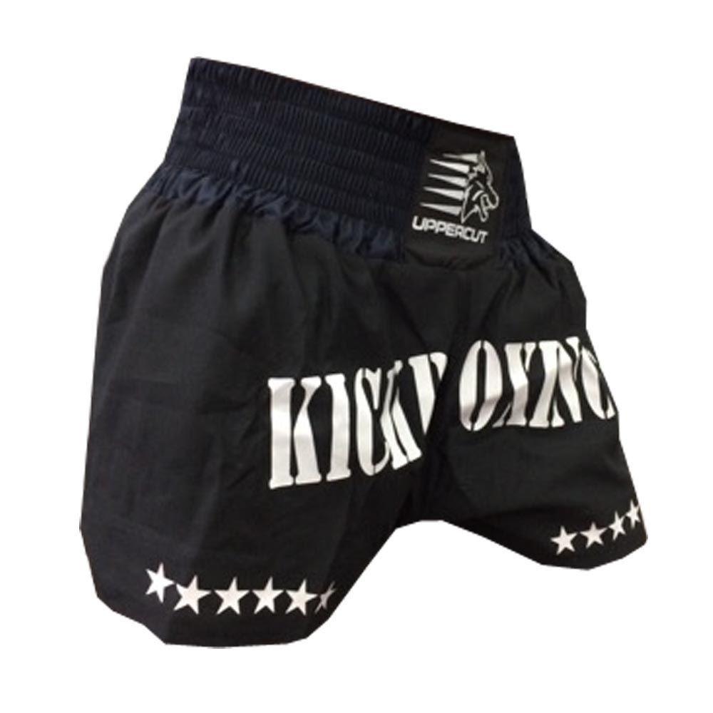 Calção Short Kickboxing  - GP - Preto - Uppercut  - Loja do Competidor