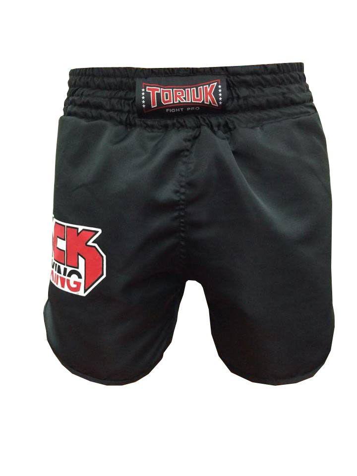 Calção / Short Kickboxing - Kicks MMA - Cavado- Preto - Toriuk .  - Loja do Competidor