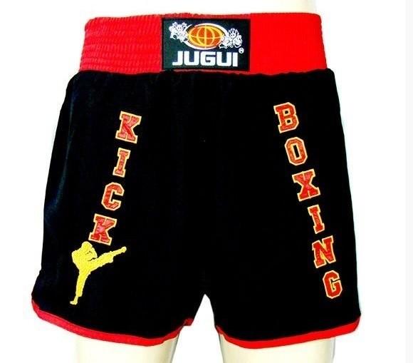 Calção / Short Kickboxing - Unissex - Bordado - Jugui  - Loja do Competidor