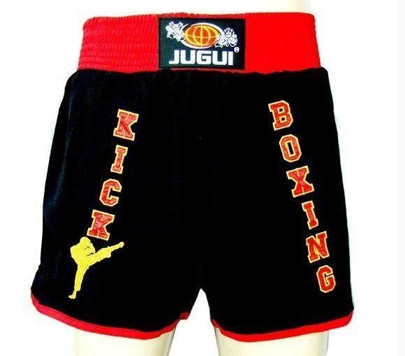 Calção Short Kickboxing - Unissex - Bordado - Jugui -