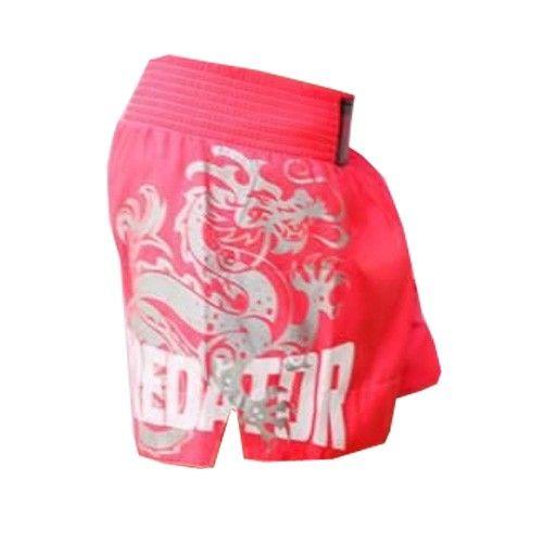 Calção / Short Muay Thai - Drago -  Feminino - Rosa-  Predator .  - Loja do Competidor