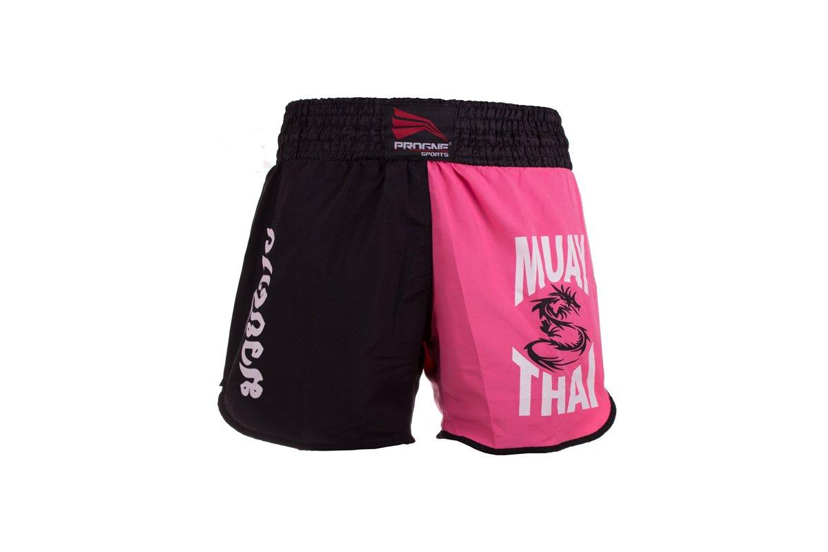 Calção / Short Muay Thai - Dragon - Progne - Feminino .  - Loja do Competidor