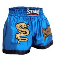 Cal��o / Short Muay Thai - Dragon Thai - Azul -  Strike
