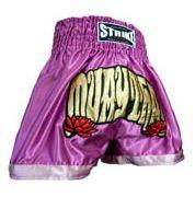 Calção Short Muay Thai - Feminino - Treino - Roxo- Strike -
