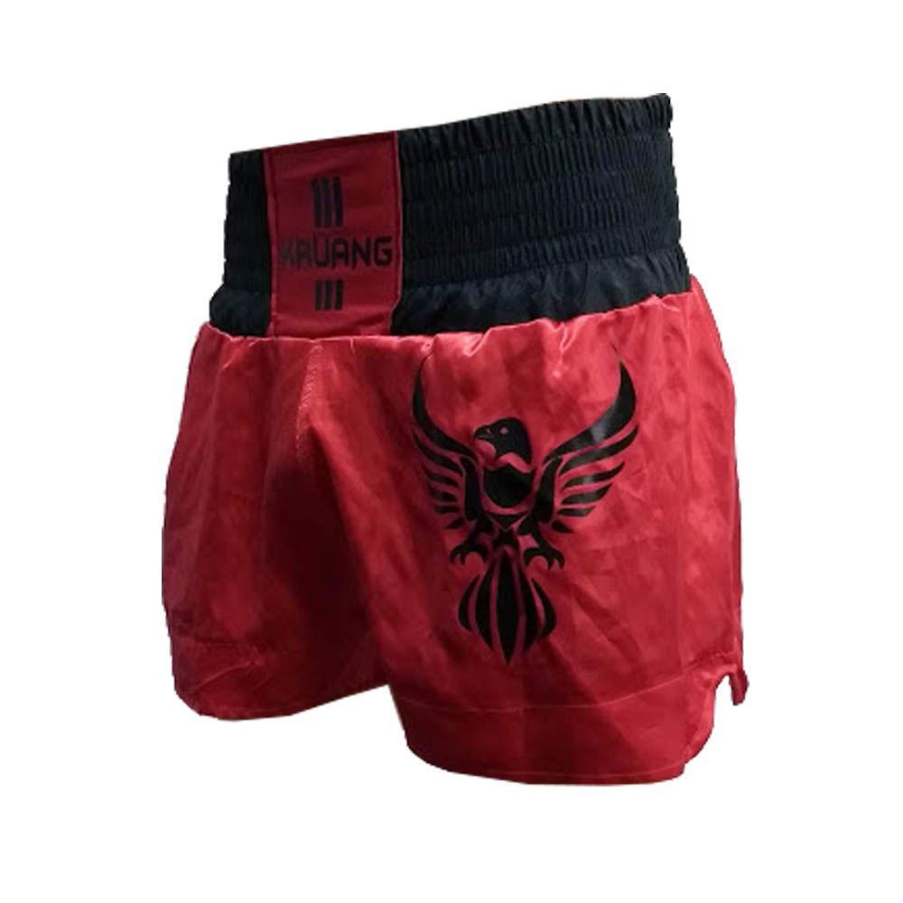 Calção Short Muay Thai - Fênix Negra- Vermelho/Preto- Uppercut
