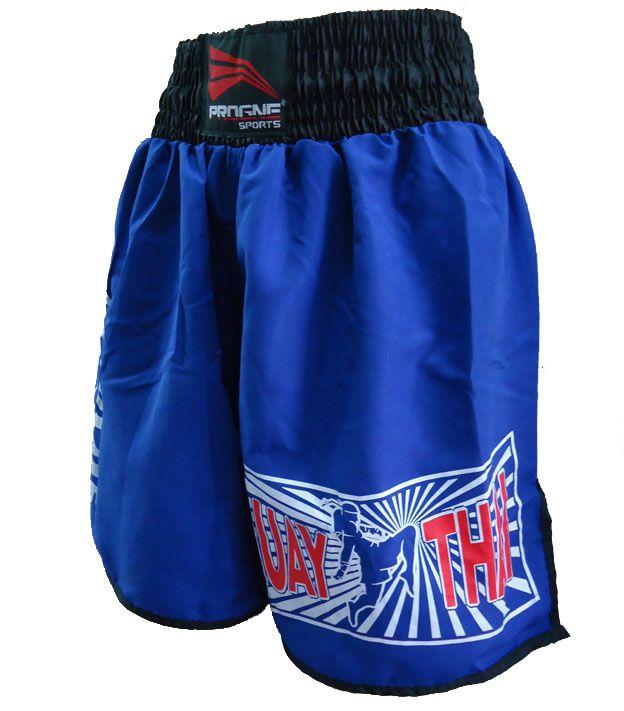 Calção Short Muay Thai - Joelhada - Progne - Unissex -  - Loja do Competidor