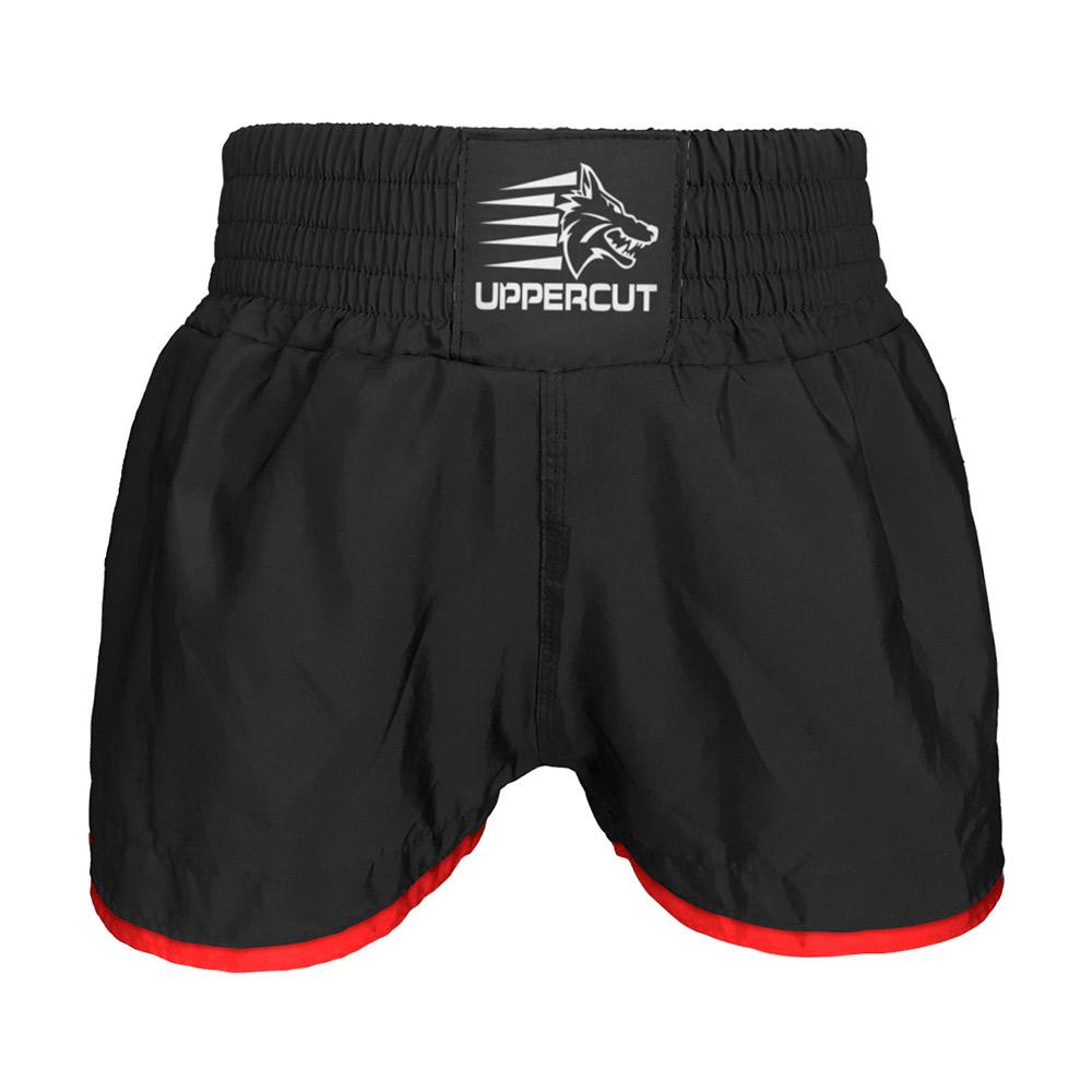 Calção Short Muay Thai Kickboxing Black - sem silk - Preto