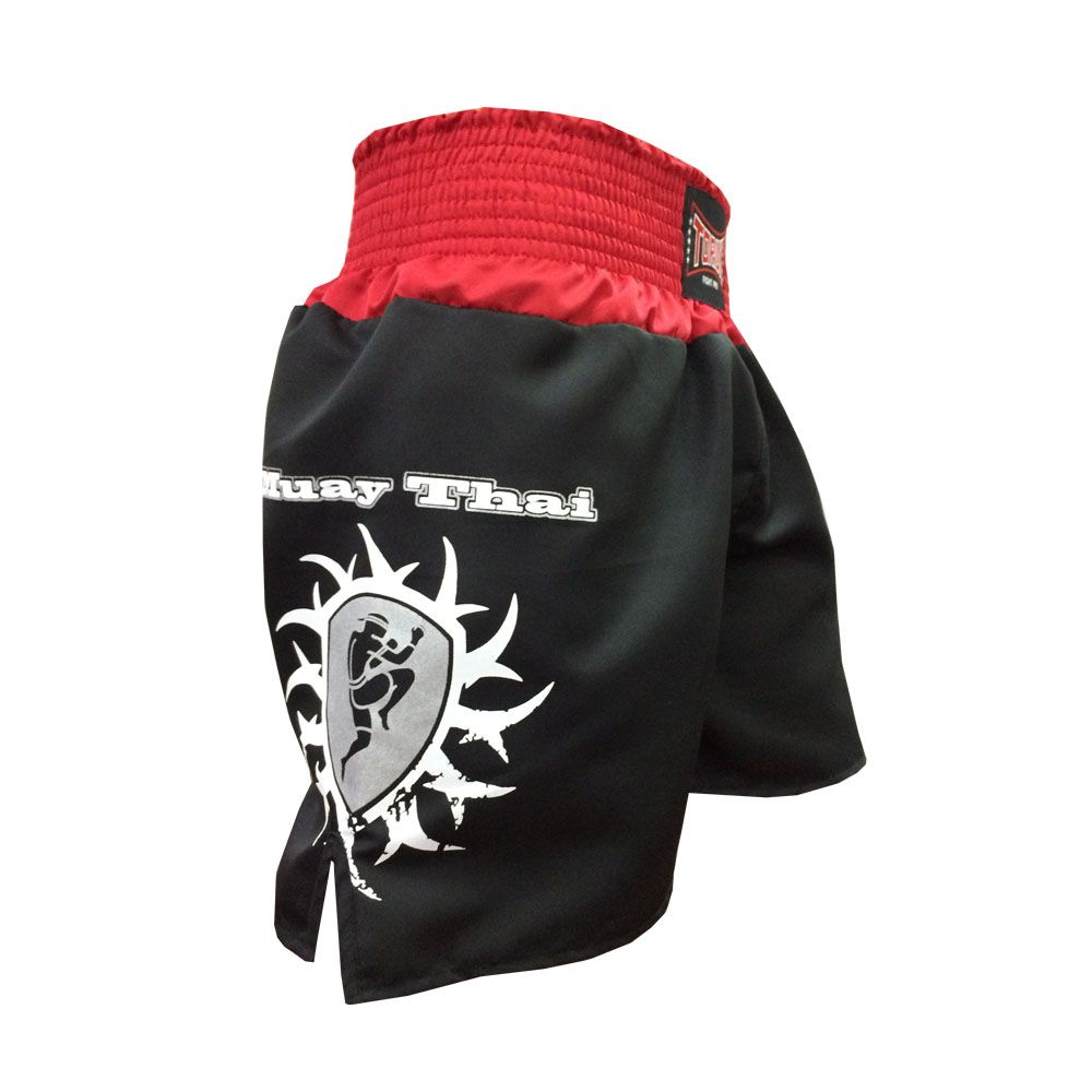 Calção Short Muay Thai - New Ram Muay - Tribal - Preto - Toriuk -