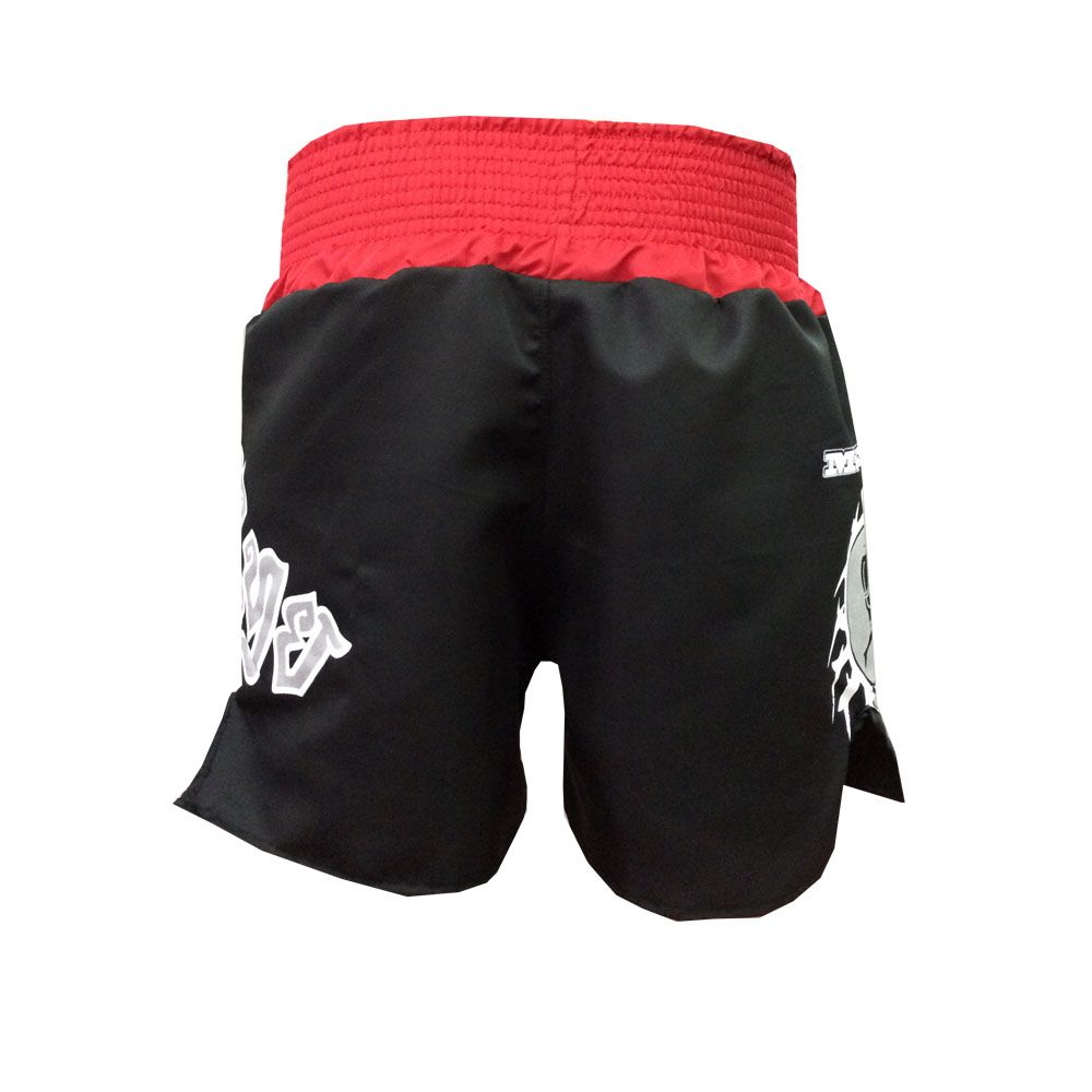 Calção Short Muay Thai - New Ram Muay - Tribal - Preto - Toriuk - - Loja do Competidor