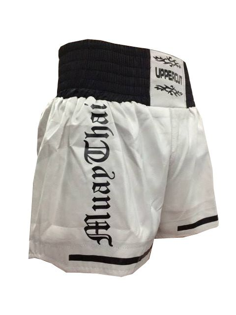 Calção Short Muay Thai - Start - Cinza /Preto- Uppercut -