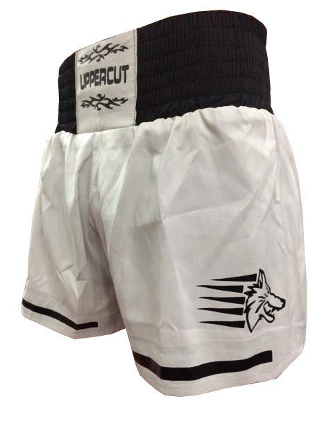Calção / Short Muay Thai - Start - Cinza /Preto- Uppercut  - Loja do Competidor