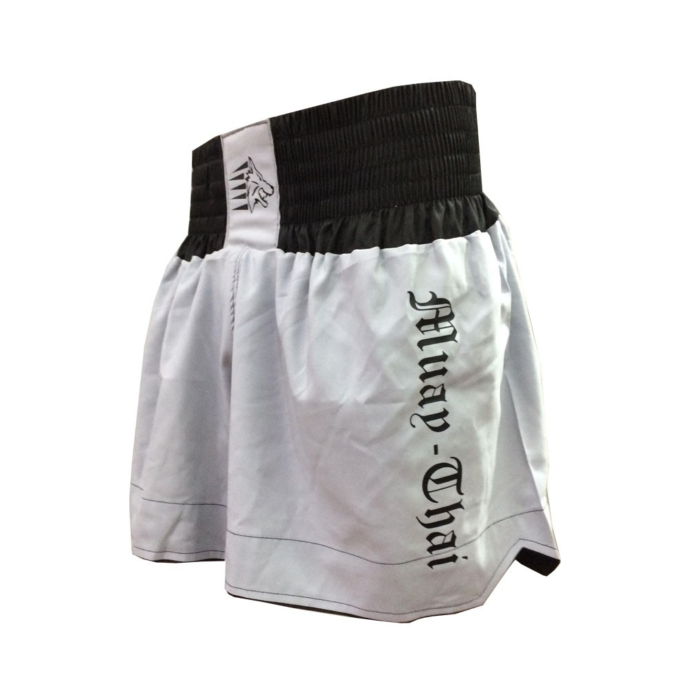 Calção / Short Muay Thai - Start V2 - Cinza /Preto- Uppercut