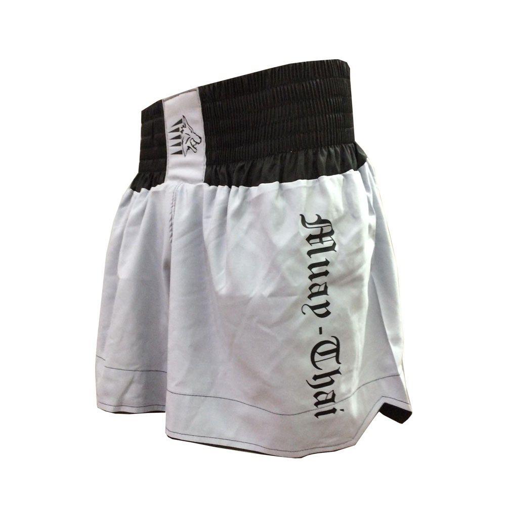 Calção / Short Muay Thai - Start V2 - Cinza /Preto- Uppercut