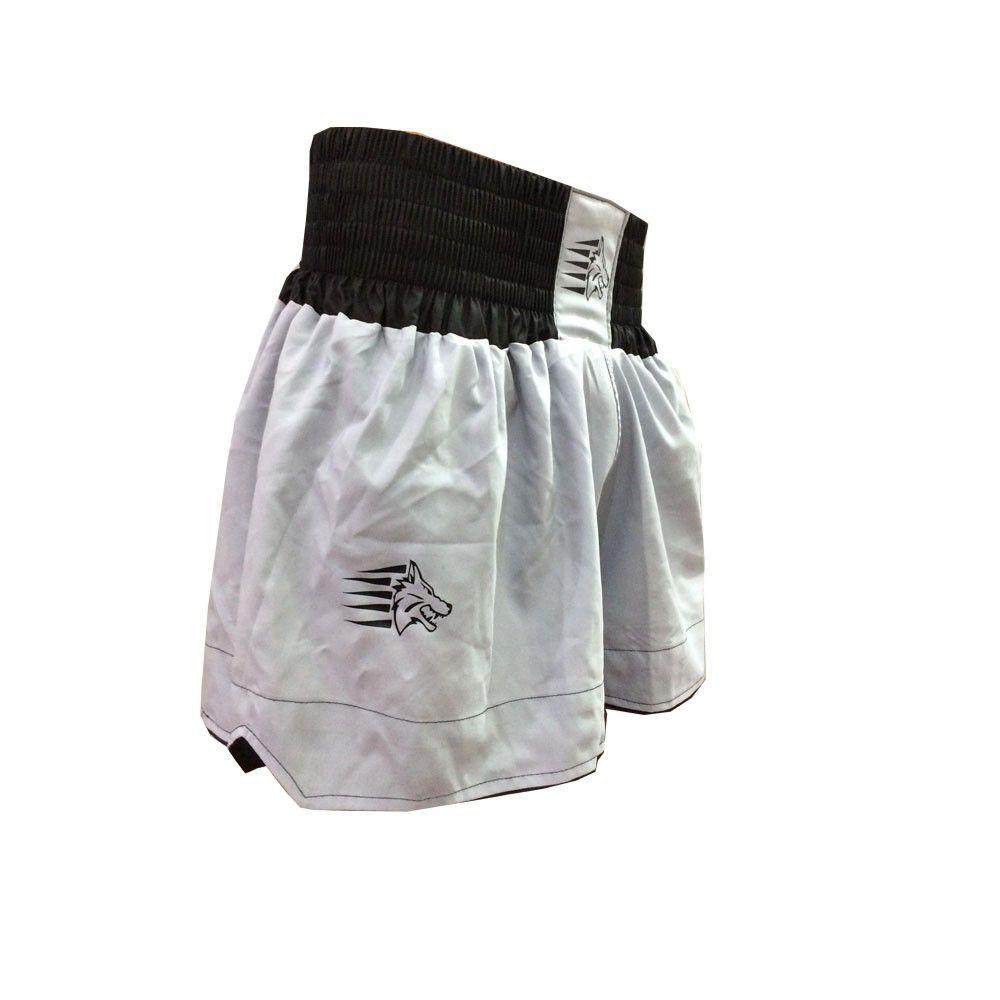 Calção / Short Muay Thai - Start V2 - Cinza /Preto- Uppercut  - Loja do Competidor