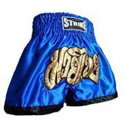 Calção / Short Muay Thai - Treino - Azul- Strike .  - Loja do Competidor