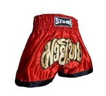 Calção / Short Muay Thai - Treino - Vermelho- Strike