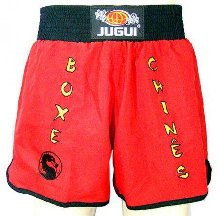 Calção / Short Sanshou/Sanda/Boxe Chinês - Bordado - Jugui .  - Loja do Competidor