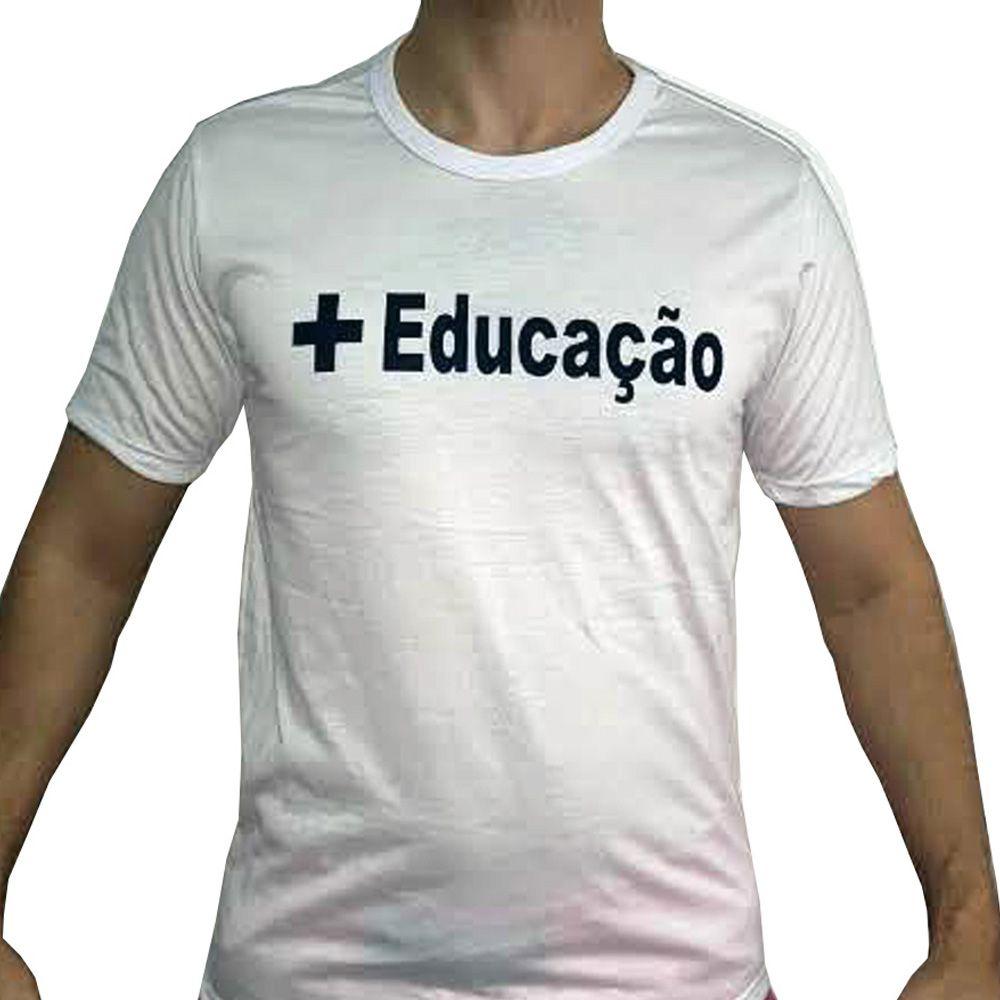 Camisa Abada Capoeira - Treino - Branca - Projeto - Unid