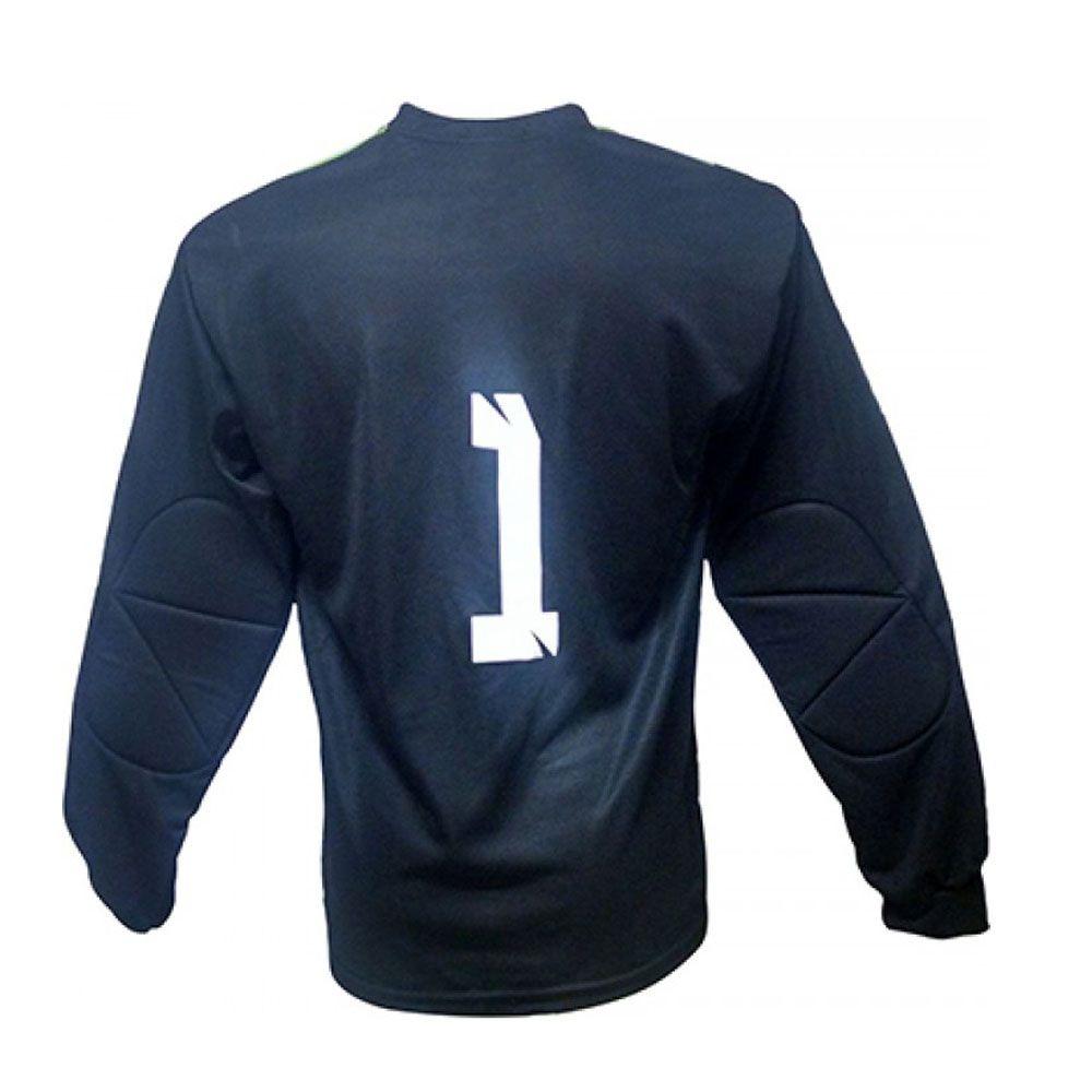 Camisa Blusão Goleiro- Futebol / Futsal / Society-  Parma - N1 - Verde/Preto- Adulto - Kanga  - Loja do Competidor