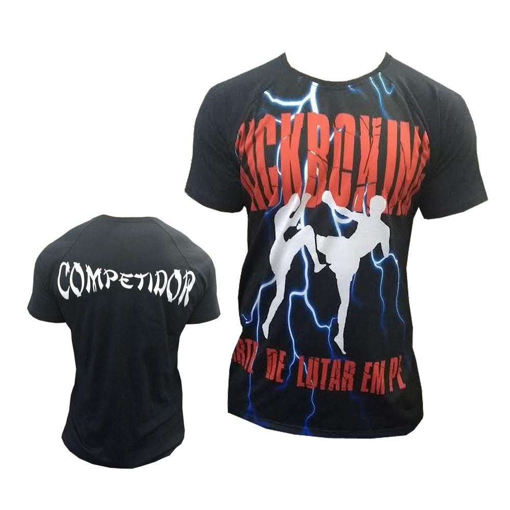 Camisa Camiseta - Kickboxing - A Arte de Lutar em Pé - Duelo Fight